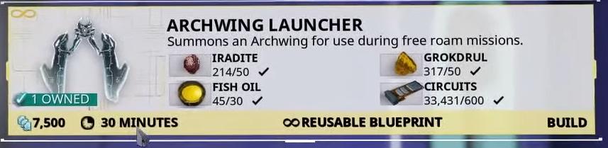Archwing Launcher Segment