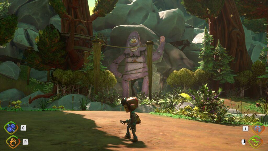 Cave of Sassclops? entrance