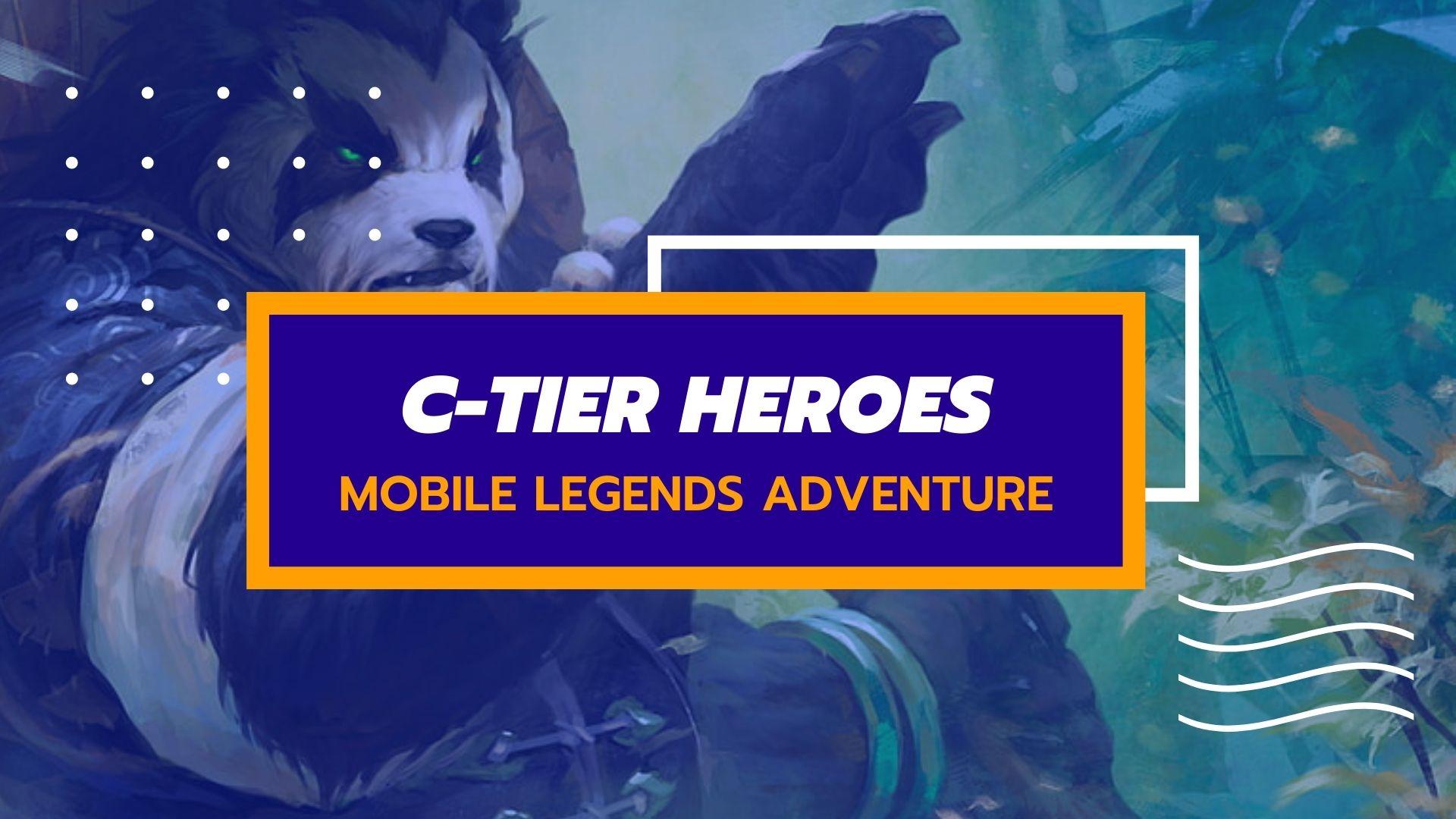 Mobile Legends Adventure Tier List