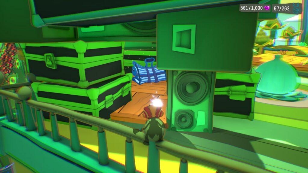 Psychonauts 2 Emotional Baggage Collectible Locations PSI Kings Sensorium