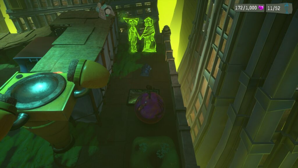 Psychonauts 2 Emotional Baggage Collectibles Strike City
