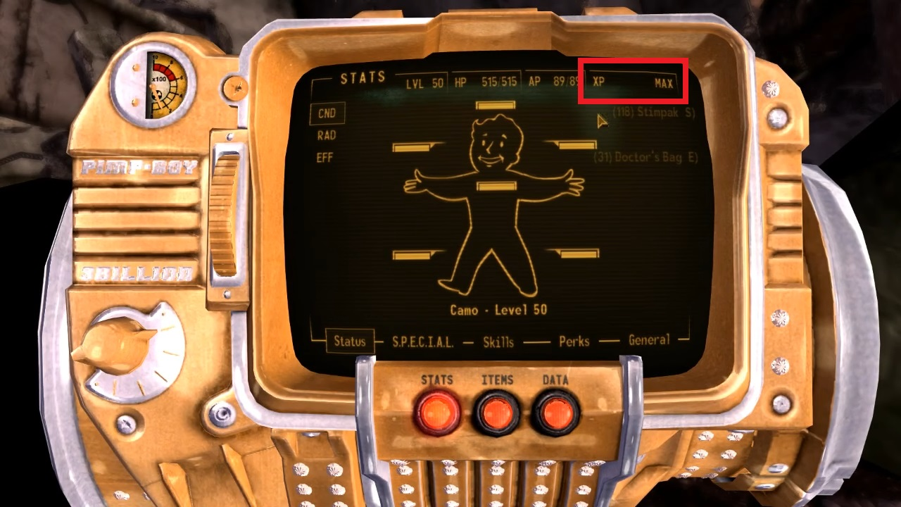Fallout New Vegas Level Cap